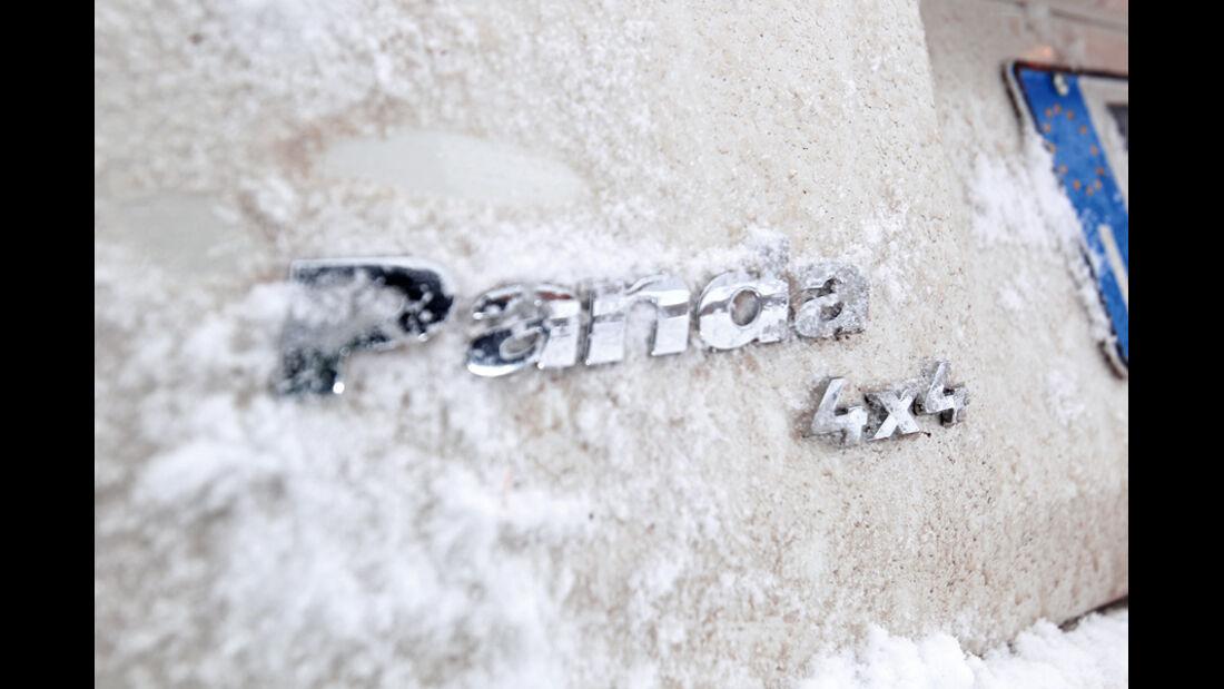 Fiat Panda 4X4, Typenbezeichnung, Emblem
