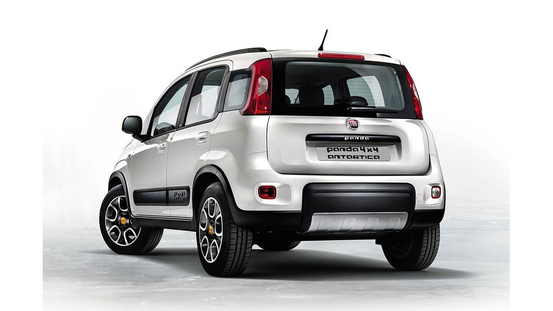 Fiat Panda 4x4 Antarctica
