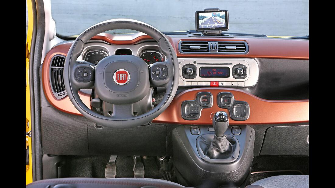 Fiat Panda 4x4 Cross, Cockpit
