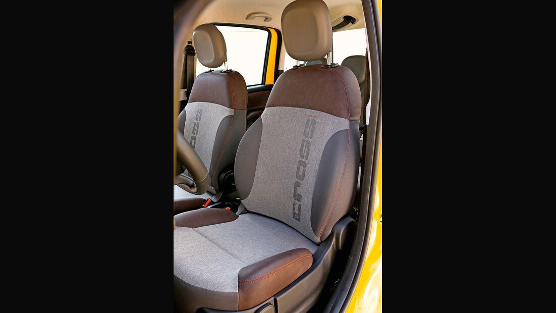 Fiat Panda 4x4 Cross, Fahrersitz