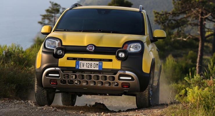 Fiat Panda 4x4 Cross, Frontansicht