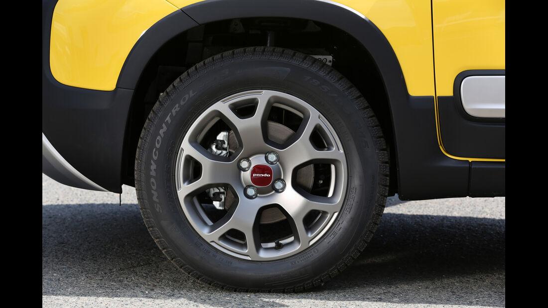 Fiat Panda 4x4 Cross, Rad, Felge