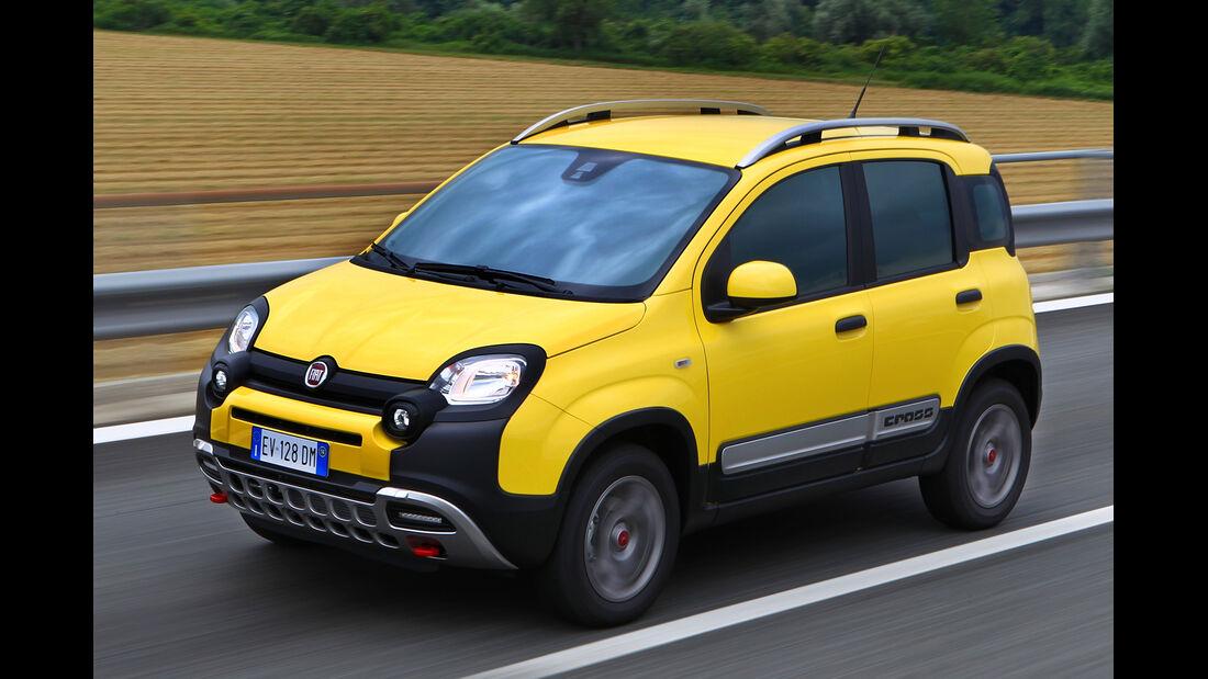 Fiat Panda 4x4 Cross, Seitenansicht