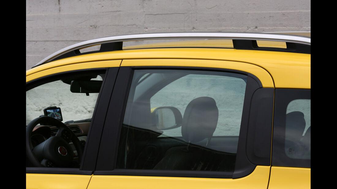 Fiat Panda 4x4 Cross, Seitenfenster, Kippfenster