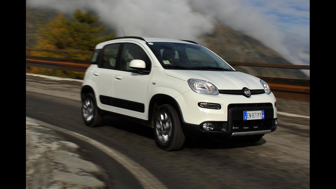 Fiat Panda 4x4, Frontansicht