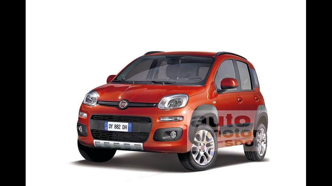 Fiat Panda 4x4 Retusche