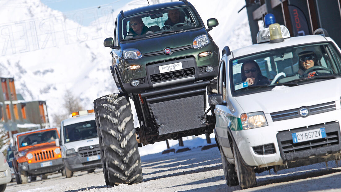 Fiat Panda Bigfoot, Frontansicht