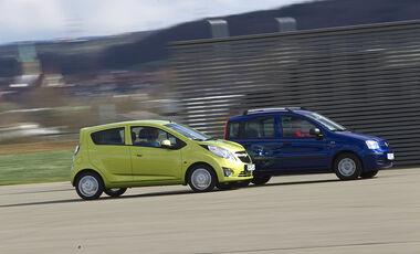 Fiat Panda & Chevrolet Spark