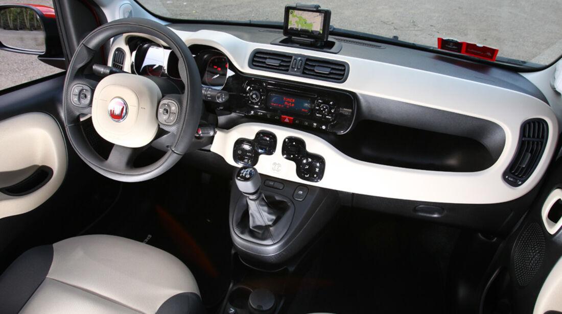 Fiat Panda, Cockpit