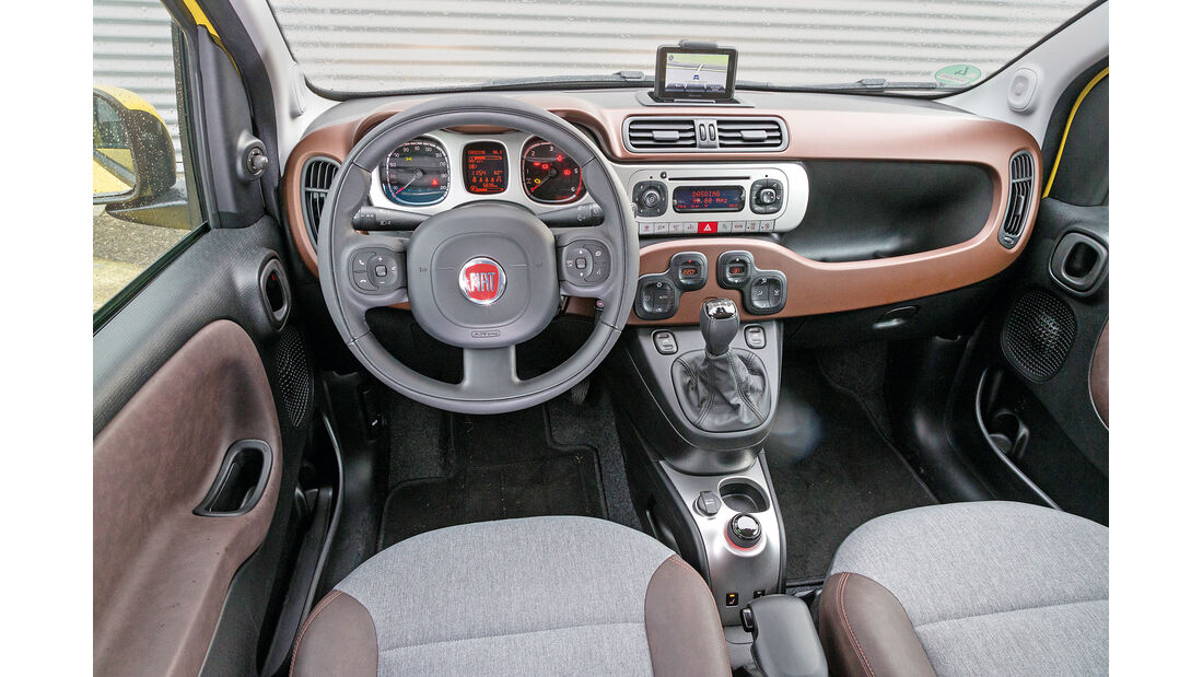 Fiat Panda Cross 1.3 Multijet, Cockpit