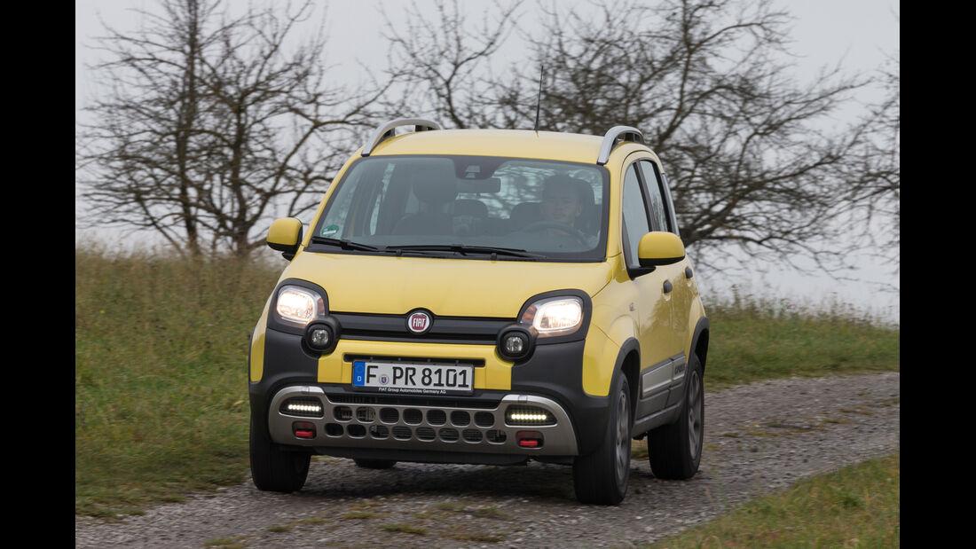 Fiat Panda Cross 1.3 Multijet, Frontansicht
