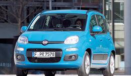 Fiat Panda, Frontansicht