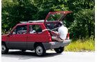 Fiat Panda, Hans Peter Seufert, Kofferraum