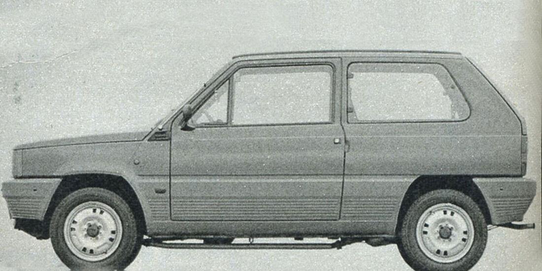 Fiat, Panda, IAA 1981
