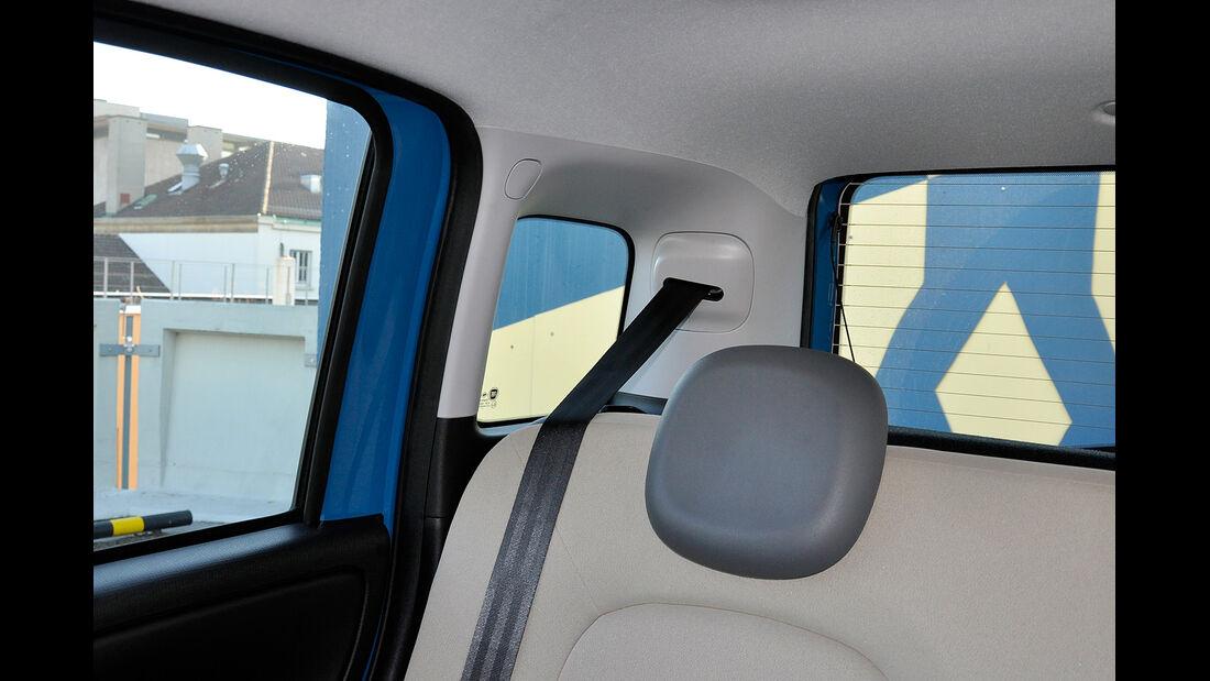 Fiat Panda, Innenraum, C-Säule