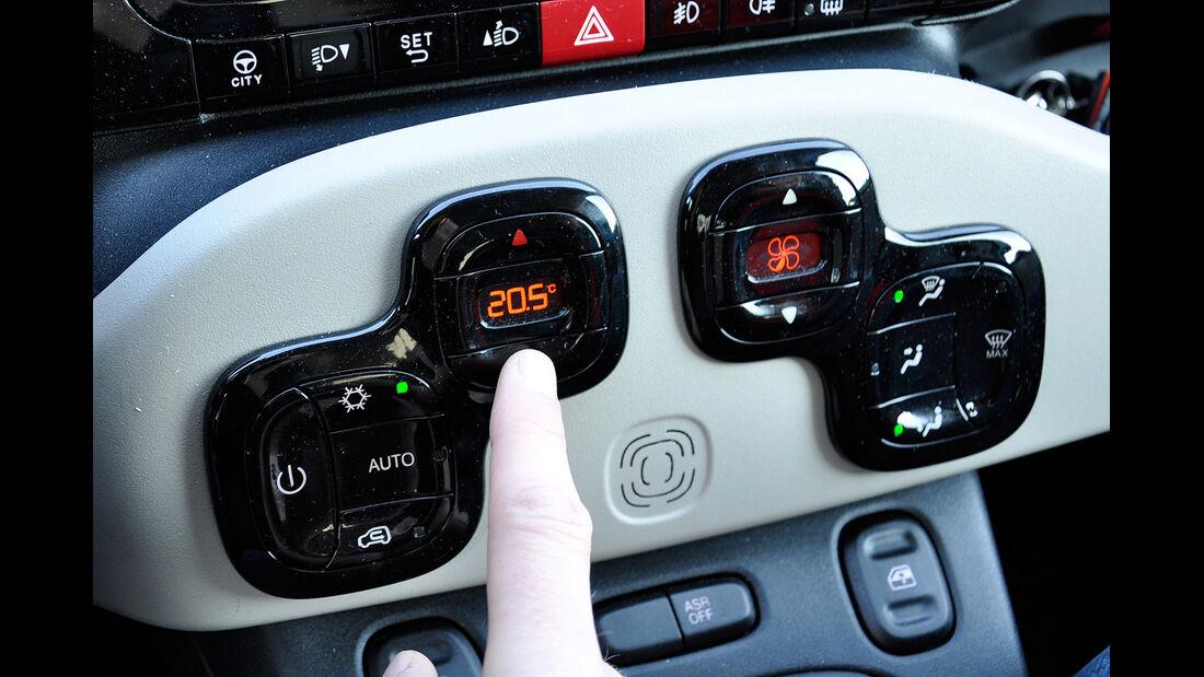 Fiat Panda, Innenraum, Klimaanlage
