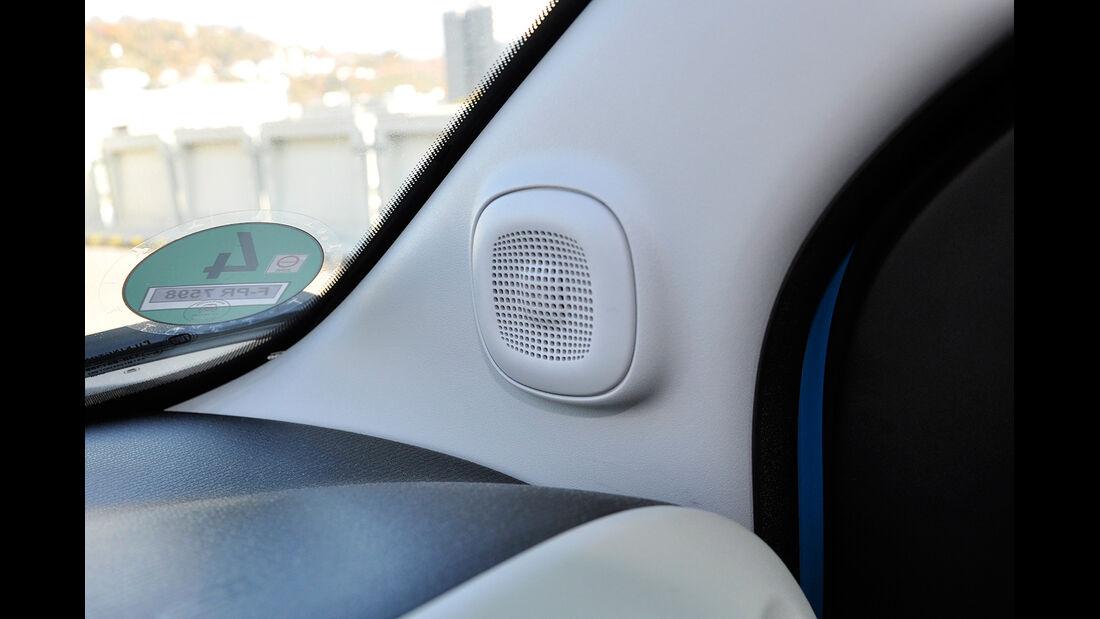 Fiat Panda, Innenraum, Lautsprecher