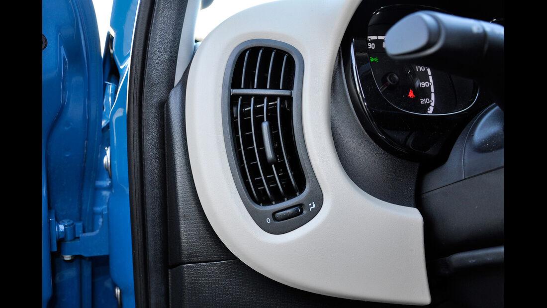 Fiat Panda, Innenraum, Lüftungsdüse