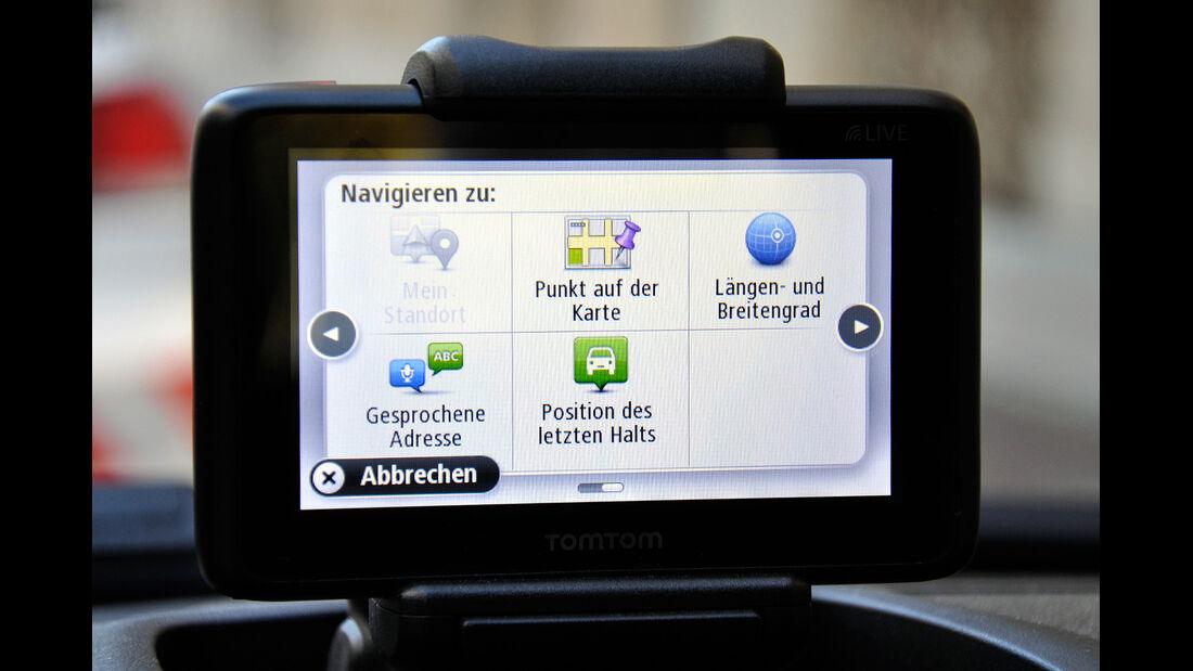 Fiat Panda, Innenraum, Navigationssystem