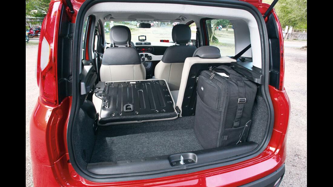 Fiat Panda, Kofferraum