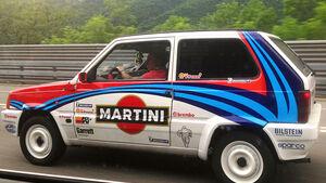 Fiat Panda Martini - Car Spotting - Formel 1 - GP Monaco - 25. Mai 2014