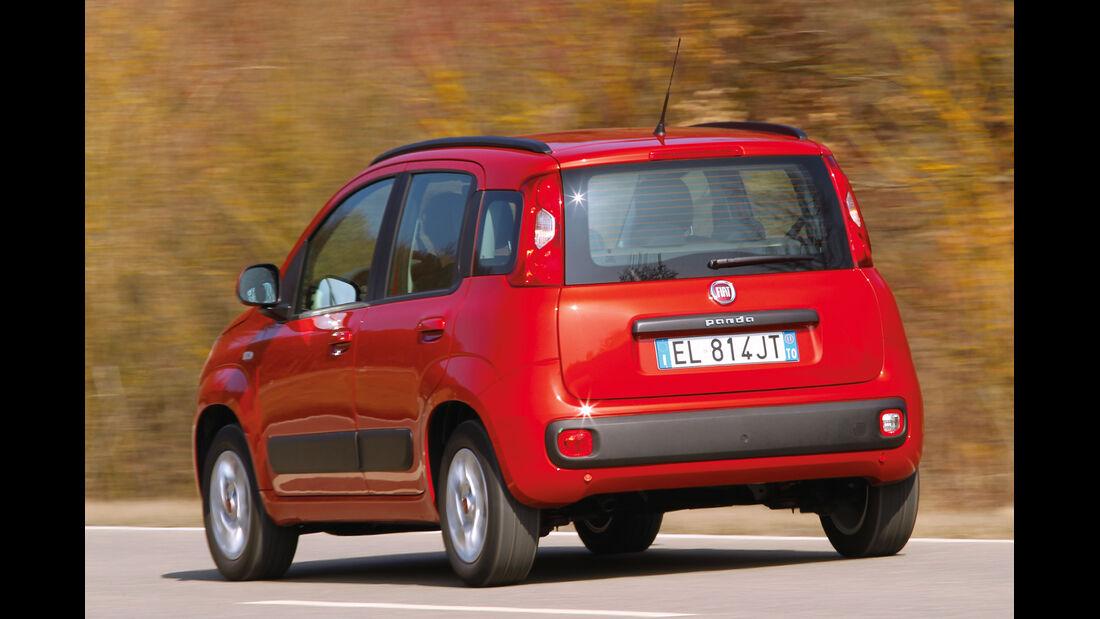Fiat Panda Natural Power, Heckansicht