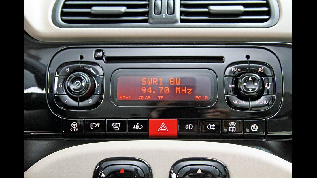 Fiat Panda, Radio