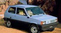 Fiat Panda, Seitenansicht