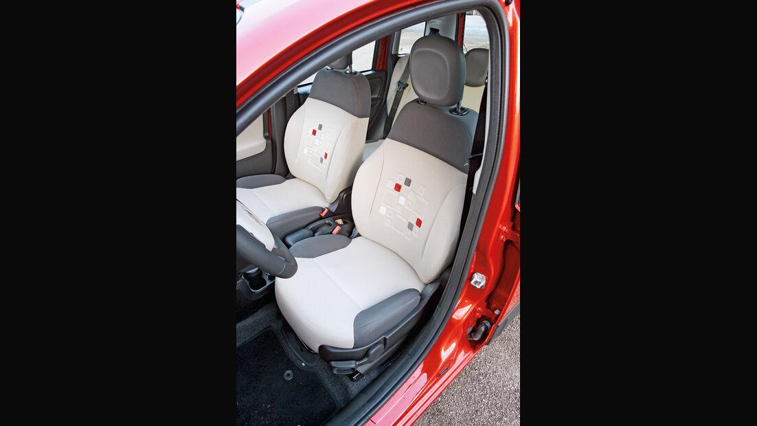 Fiat Panda, Sitze