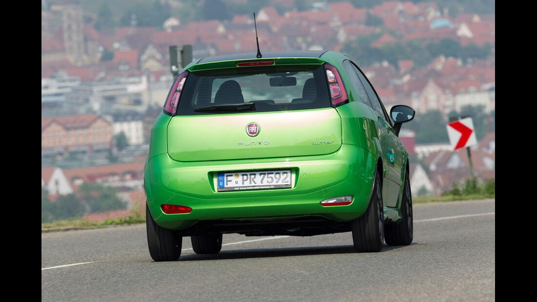 Fiat Punto 0,9 Twinair, Heck