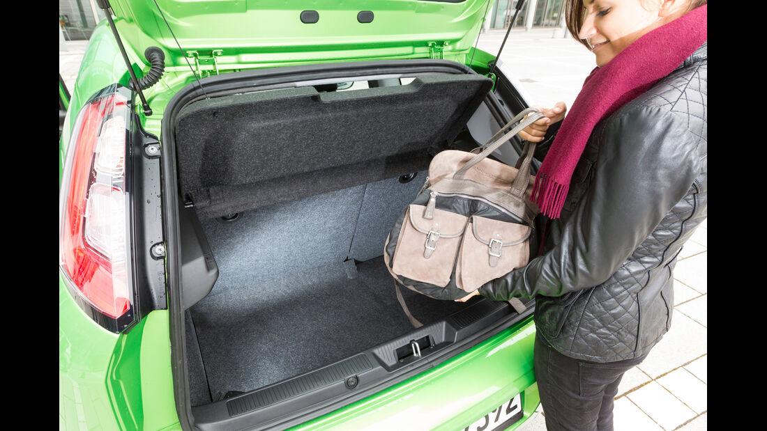 Fiat Punto 0,9 Twinair, Kofferraum