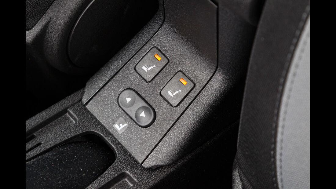 Fiat Punto 0,9 Twinair, Sitzheizung