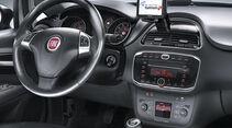 Fiat Punto 0,9 Twinair Start&Stopp Easy, Cockpit, Lenkrad
