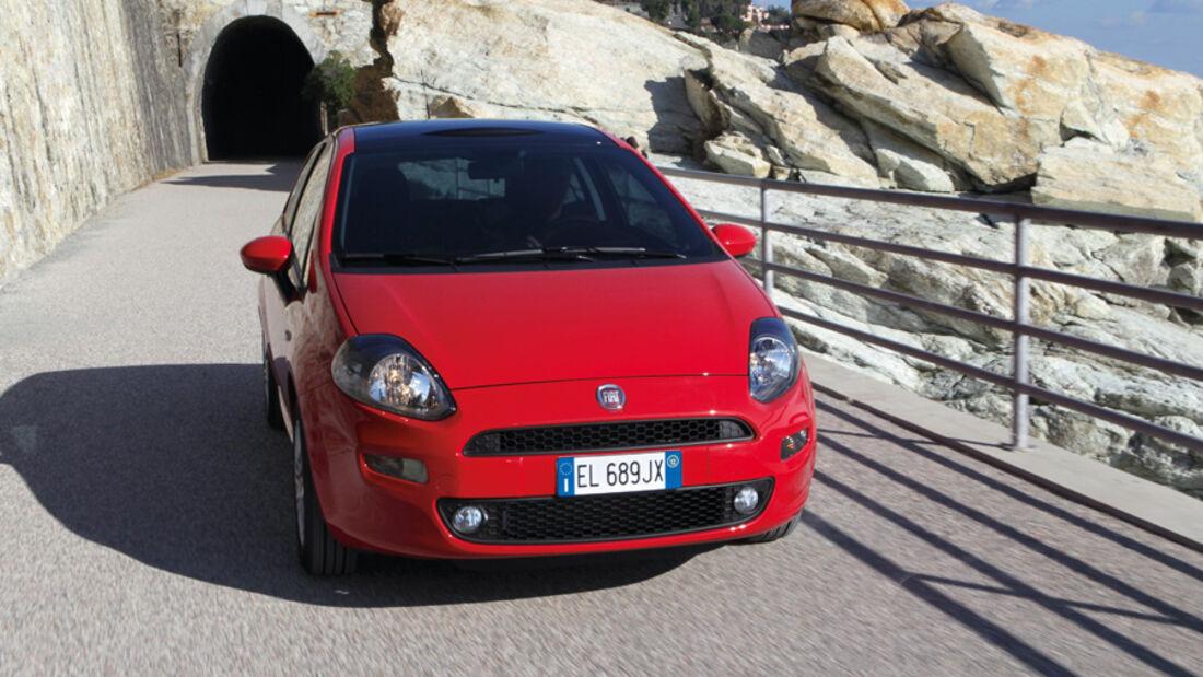 Fiat Punto 0,9 Twinair Start&Stopp Easy, Frontansicht