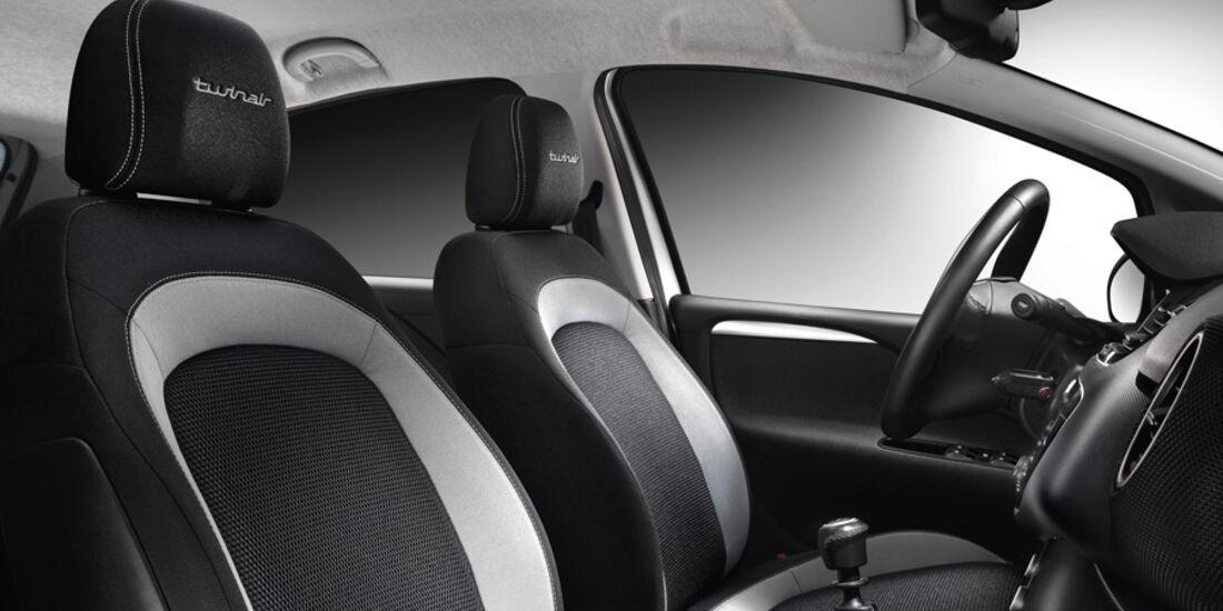 Fiat Punto 0,9 Twinair Start&Stopp Easy, Vordersitze