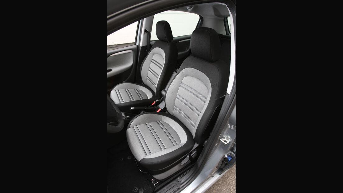 Fiat Punto Evo 1.4 16V, Vodersitz