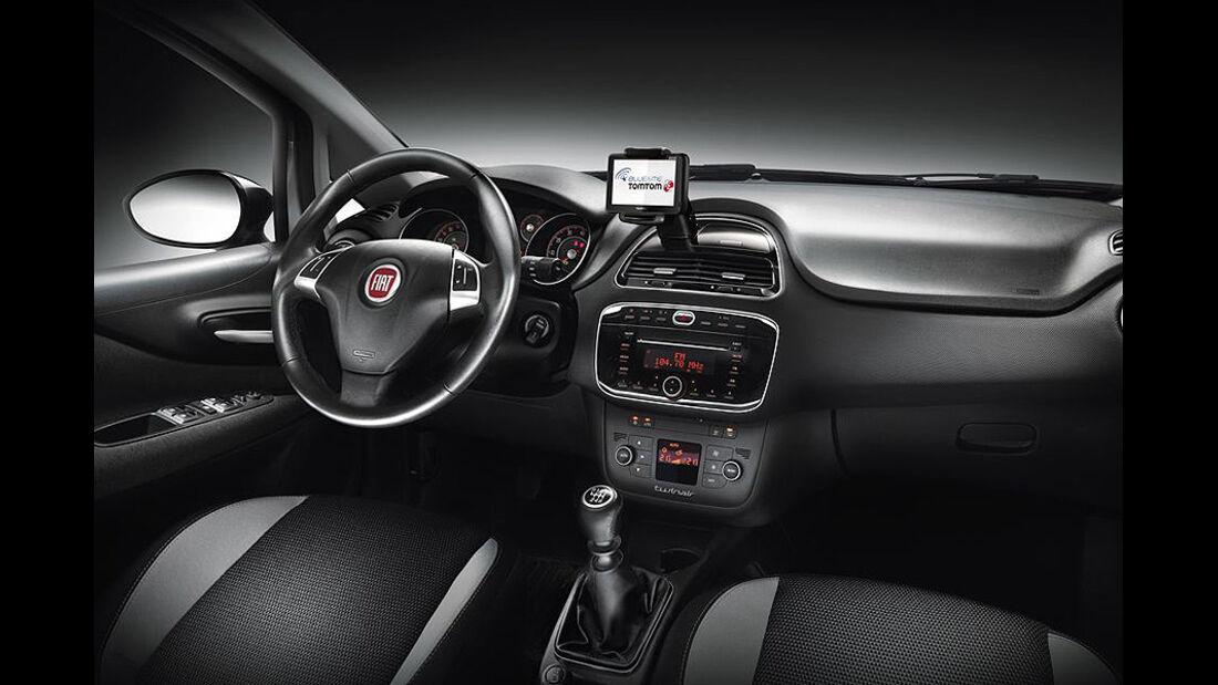 Fiat Punto, Modelljahr 2012, Innenraum