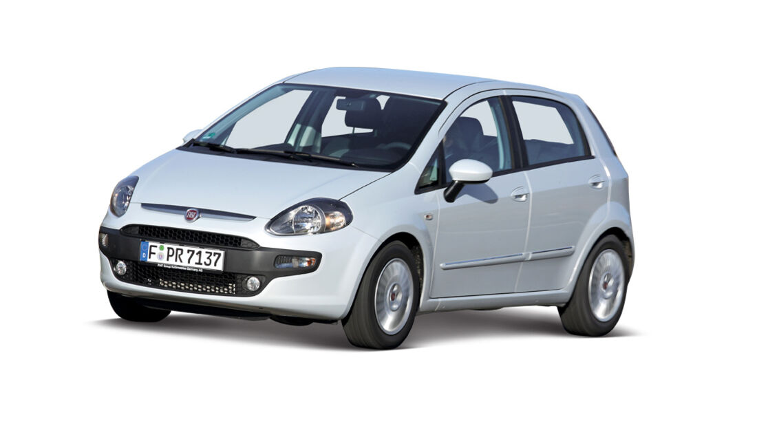 Fiat Punto, Seitenansicht