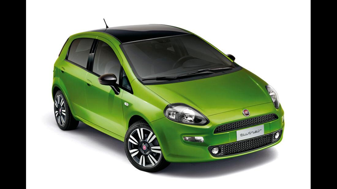 Fiat Punto Twinair, Frontansicht