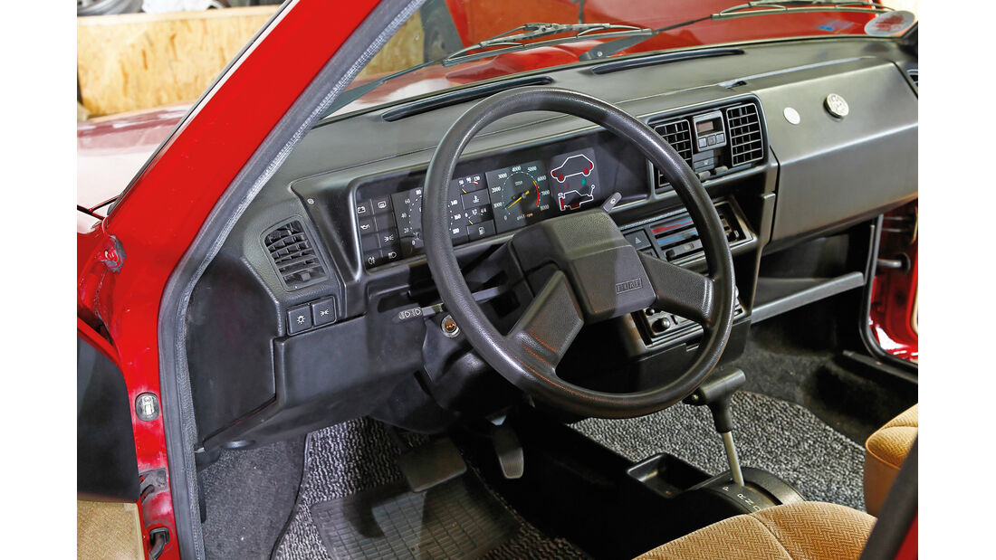 Fiat Ritmo S85 Supermatic, Cockpit