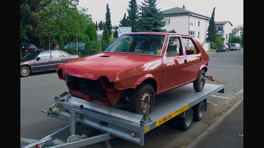 Fiat Ritmo S85 Supermatic, Glanzlackierung