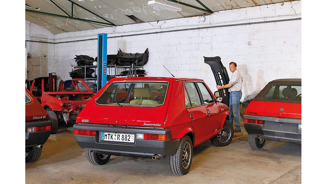 Fiat Ritmo S85 Supermatic, Heckansicht