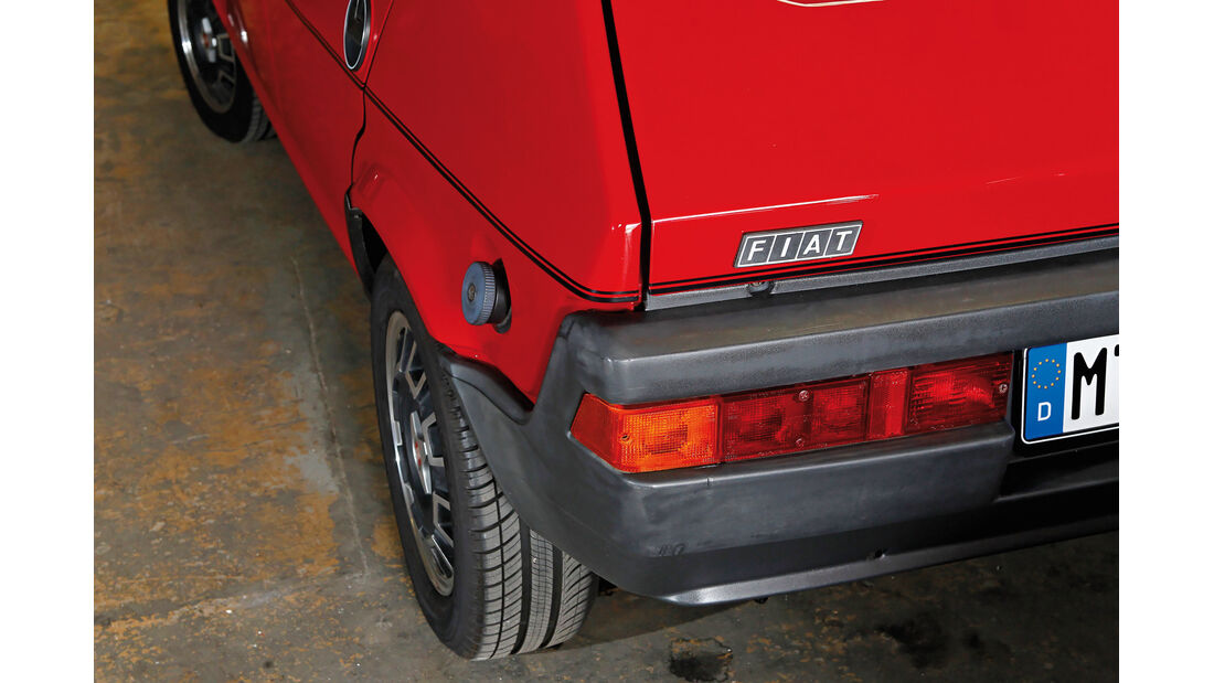 Fiat Ritmo S85 Supermatic, Heckleuchte