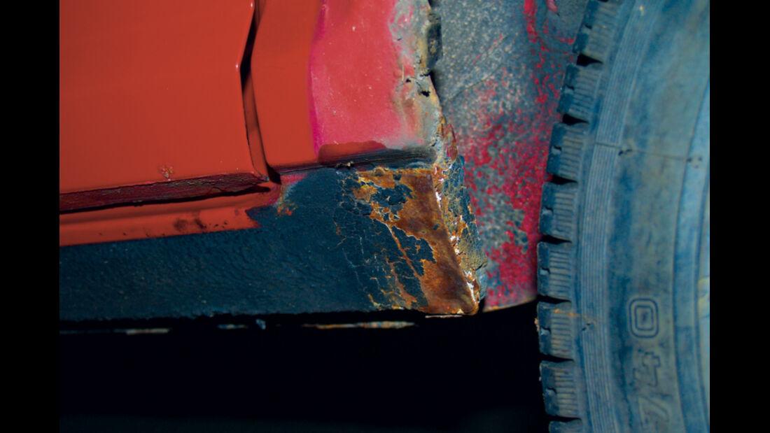 Fiat Ritmo S85 Supermatic, Rost