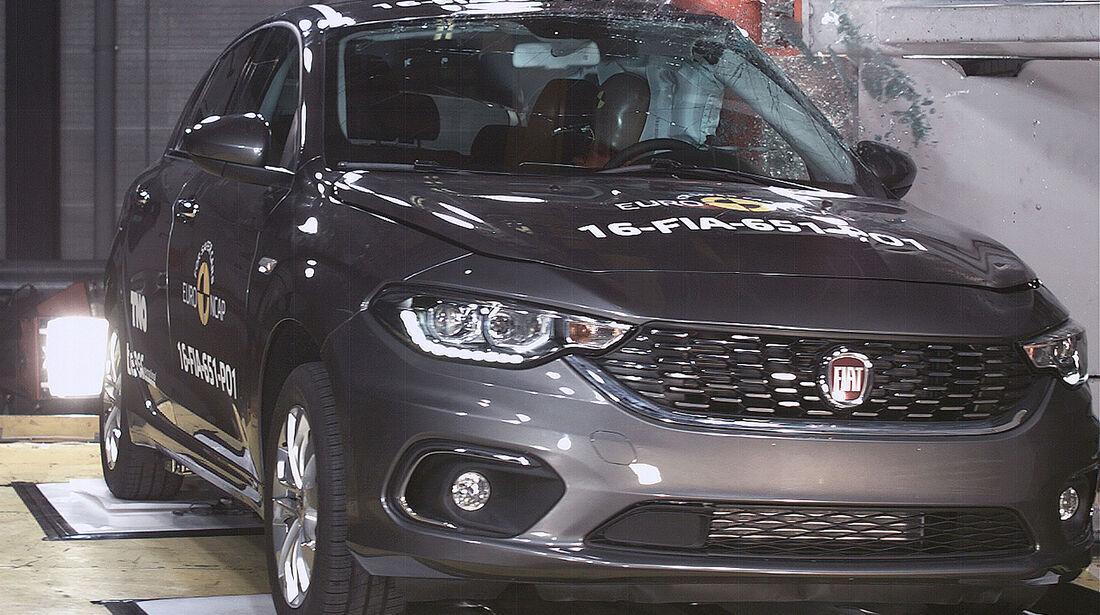 Fiat Tipo Crashtest Euro NCAP 2016