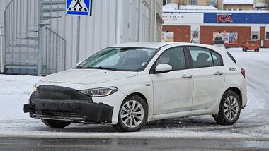 Fiat Tipo Facelift Erlkönig