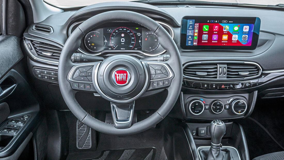 Fiat Tipo Facelift, Interieur