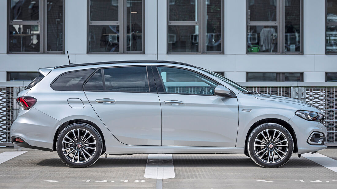 Fiat Tipo Facelift, Kombi Exterieur