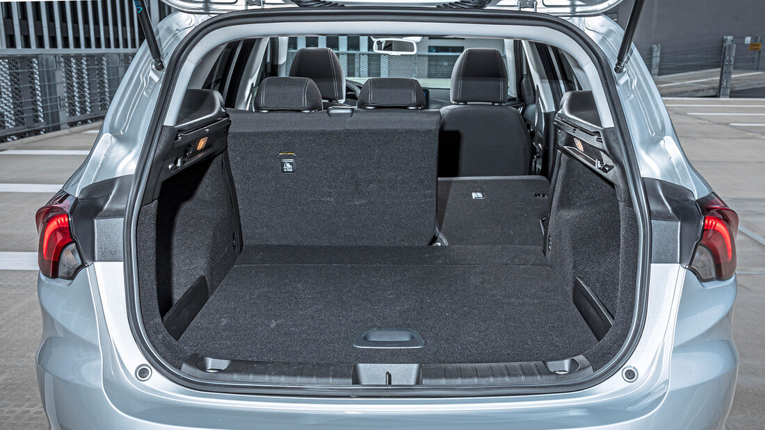 Fiat Tipo Facelift, Kombi Kofferraum