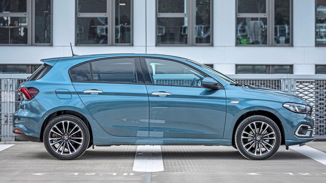 Fiat Tipo Facelift, Schrägheck Exterieur